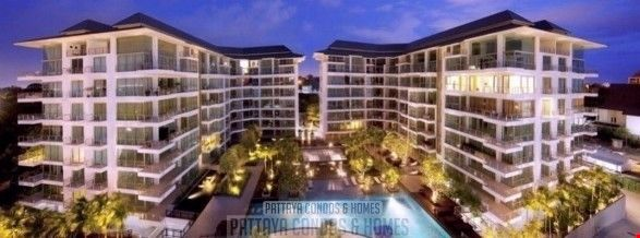 Picture of The Sanctuary Wongamat - 2 Bedroom Condo for Sale, Pool View